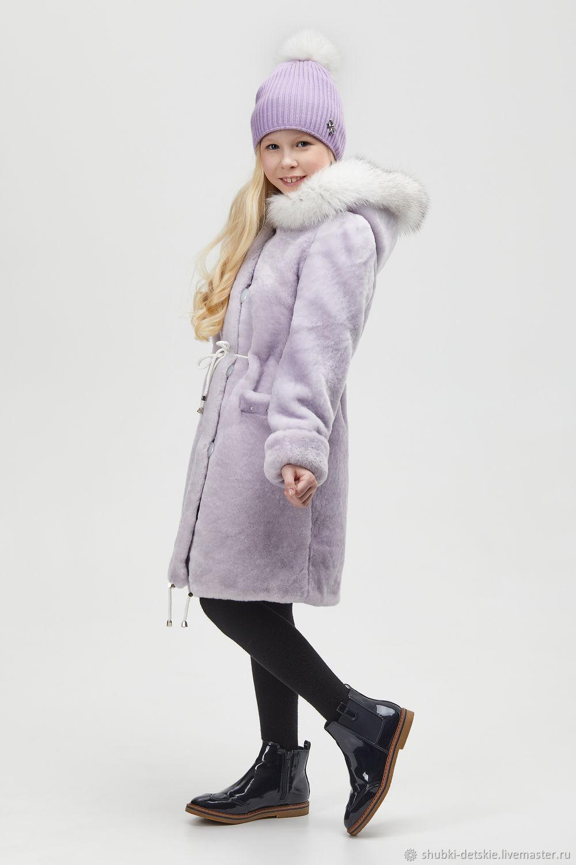 Mouton coat color lavender, Fur Coats, Pyatigorsk,  Фото №1