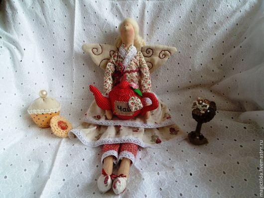Куклы Тильды ручной работы. Ярмарка Мастеров - ручная работа. Купить Чайная фея, кукла в стиле Тильда. Handmade. Тильда