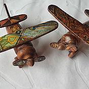 """Куклы и игрушки ручной работы. Ярмарка Мастеров - ручная работа Самолетики """"Встали на крыло"""". Handmade."""