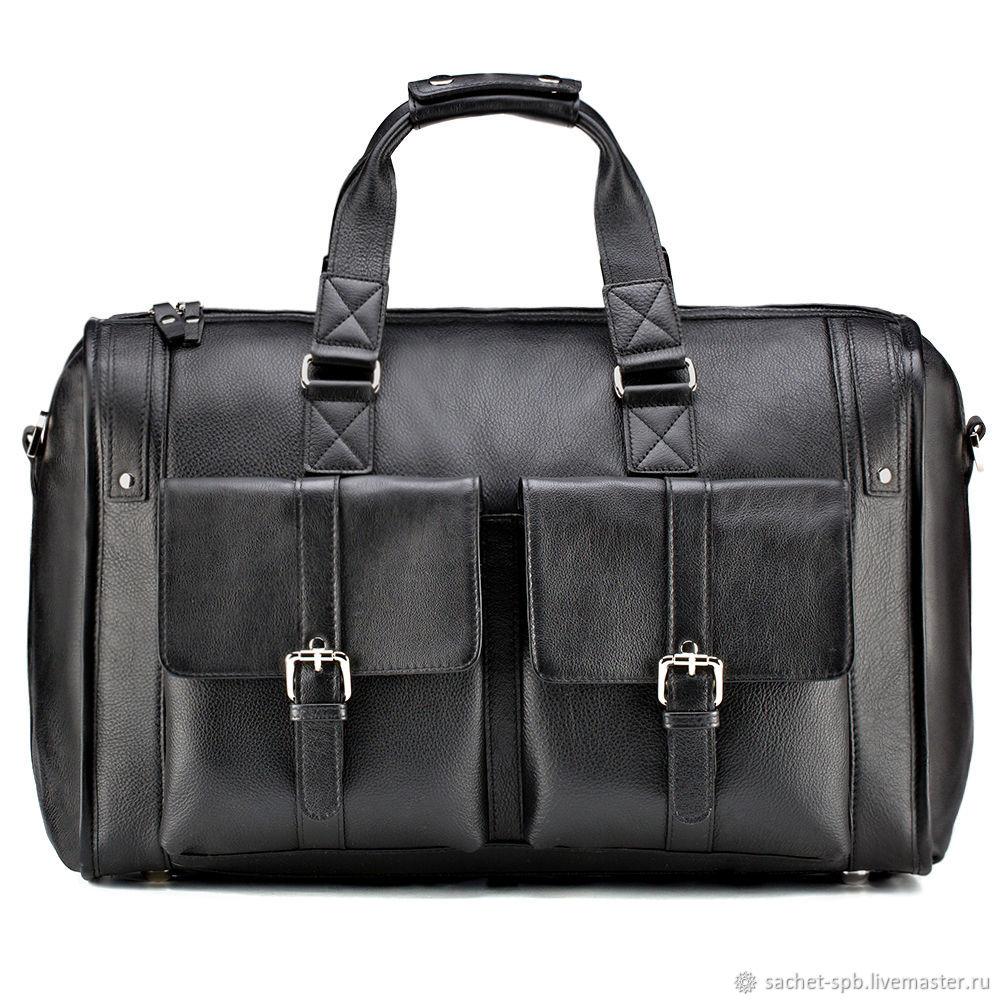 7b03387ae014 Мужские сумки ручной работы. Ярмарка Мастеров - ручная работа. Купить Кожаная  дорожная сумка ' ...