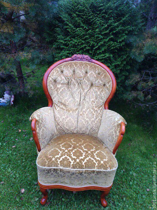Мебель ручной работы. Ярмарка Мастеров - ручная работа. Купить Кресло винтажное. Handmade. Комбинированный, кресло