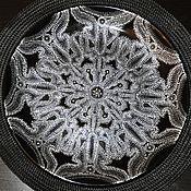 Тарелки ручной работы. Ярмарка Мастеров - ручная работа Тарелка с росписью Луна. Handmade.