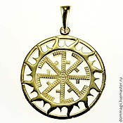 Amulet handmade. Livemaster - original item Torch gold. Handmade.