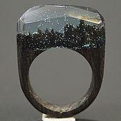 """Украшения ручной работы. Ярмарка Мастеров - ручная работа Деревянное кольцо """"Волшебная  принцесса 24"""", кольцо из дерева. Handmade."""