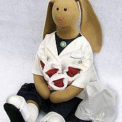 Куклы и игрушки ручной работы. Ярмарка Мастеров - ручная работа Тильда-кукла Врач. Handmade.