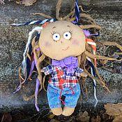Куклы и игрушки ручной работы. Ярмарка Мастеров - ручная работа Авторская интерьерная кукла Ариша ( девочка с дредами). Handmade.