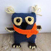 Куклы и игрушки ручной работы. Ярмарка Мастеров - ручная работа Вязаные совы. Handmade.