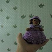 Куклы и игрушки ручной работы. Ярмарка Мастеров - ручная работа кукла принцесса крючком. Handmade.