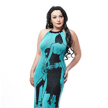 Одежда ручной работы. Ярмарка Мастеров - ручная работа Платье Танго вдвоем. Handmade.