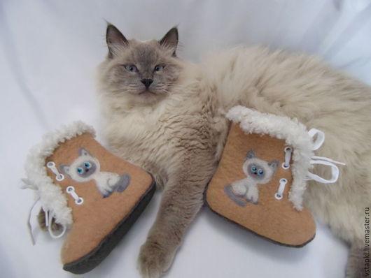 Валенки-ботинки СЁМА