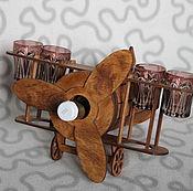 Подарки к праздникам handmade. Livemaster - original item minibar plane. Handmade.