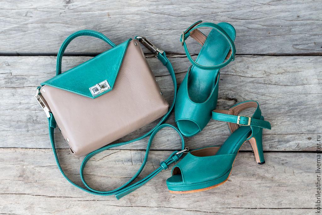 Обувь ручной работы. Ярмарка Мастеров - ручная работа. Купить Босоножки из натуральной кожи Patricia. Летние туфли на шпильке. Handmade.