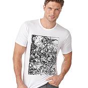 Мужская одежда handmade. Livemaster - original item Horsemen of the Apocalypse T-Shirt. Handmade.