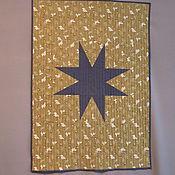 """Картины и панно ручной работы. Ярмарка Мастеров - ручная работа Текстильное панно """"Звезда"""". Handmade."""