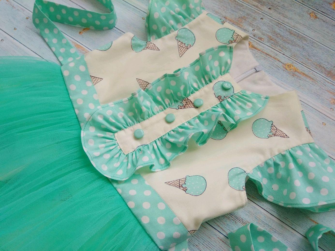 Праздничное платье Мятные грезы