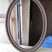 Для дома и интерьера ручной работы. Ярмарка Мастеров - ручная работа Рама овальная дубовая.. Handmade.
