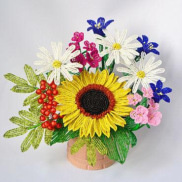 Flowers and floristry handmade. Livemaster - original item A bouquet of wild flowers. Handmade.
