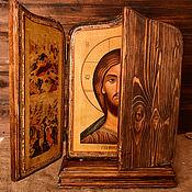 """Триптих  """"Господь Вседержитель с праздниками"""""""