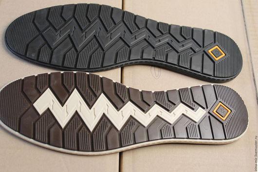 Другие виды рукоделия ручной работы. Ярмарка Мастеров - ручная работа. Купить Подошва БРАЙТОН для обуви. Handmade. Черный