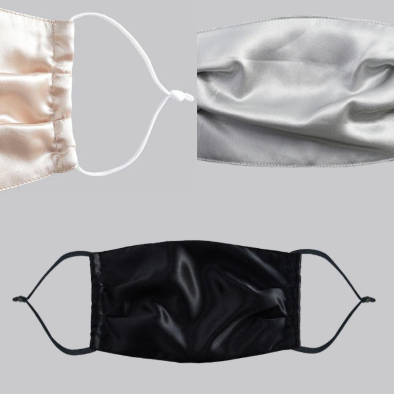 Шёлковая защитная маска, 19 мм, 2 слоя – купить на Ярмарке Мастеров – LLSL2RU | Защитные маски, Москва