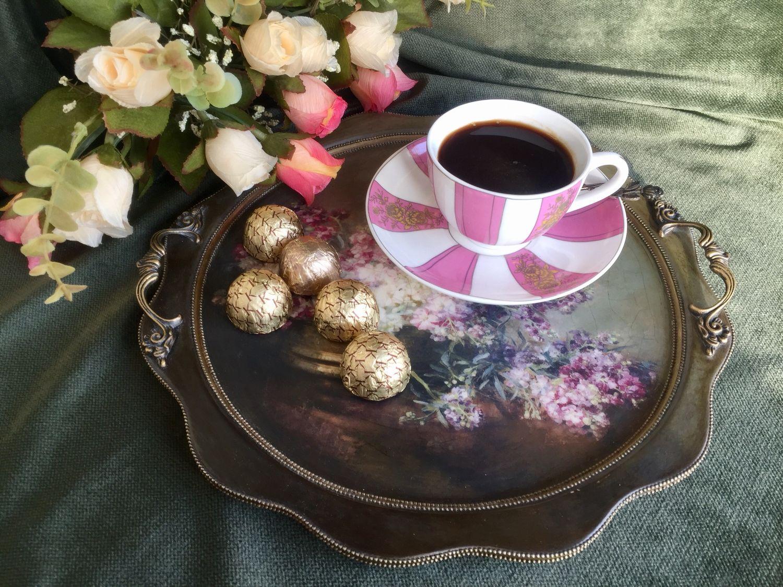 Картинки кофе для двоих поднос, самый красивый