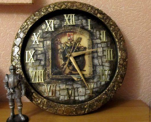 Часы настенные ручная работа  Тайны Времен