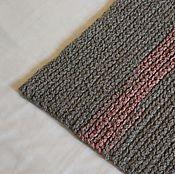 """Для дома и интерьера ручной работы. Ярмарка Мастеров - ручная работа коврик вязаный """"Розовый Слон"""". Handmade."""