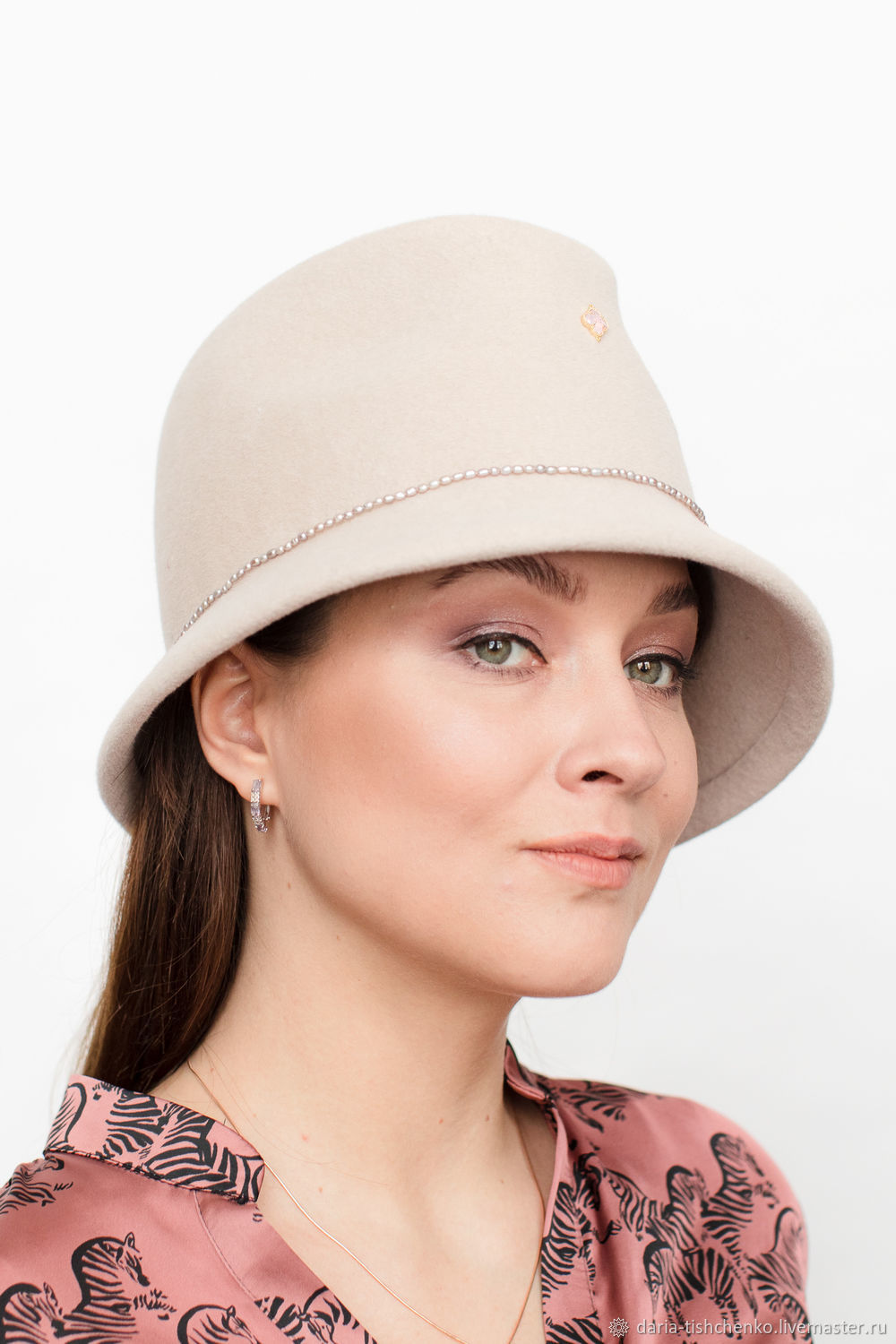 Chesterfield Velour Hat, Hats1, Moscow,  Фото №1
