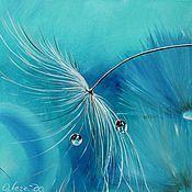 Картины и панно ручной работы. Ярмарка Мастеров - ручная работа Картина маслом  Вдохновение. Handmade.