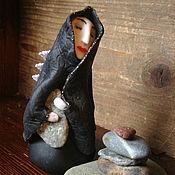 """Для дома и интерьера ручной работы. Ярмарка Мастеров - ручная работа Фигурка """"Фея хранительница камней"""". Handmade."""