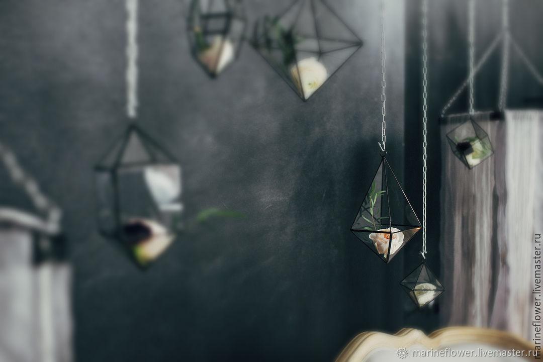 Флорариум подвесной Капелька