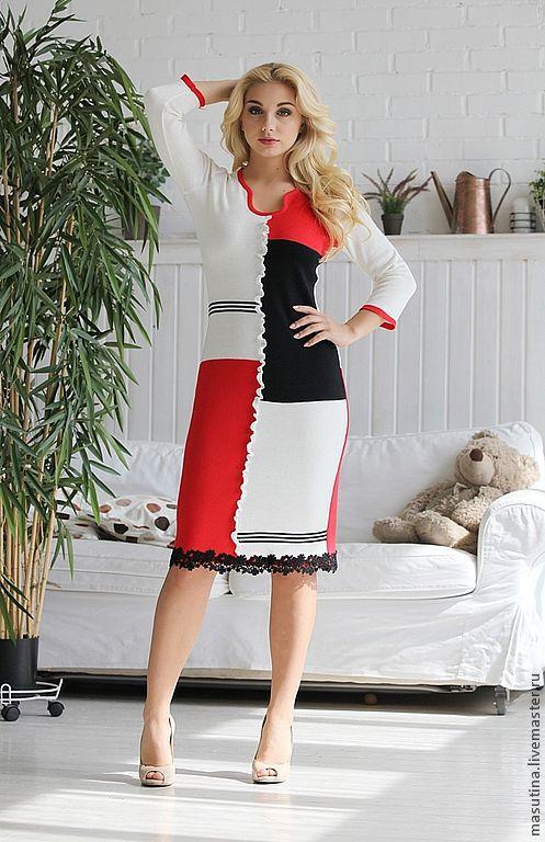 """Платья ручной работы. Ярмарка Мастеров - ручная работа. Купить Платье """"Гауди"""". Handmade. Абстрактный, платье с кружевом"""