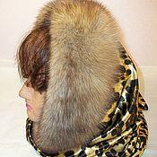 Аксессуары handmade. Livemaster - original item shawl with sable fur. Handmade.