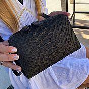 Сумки и аксессуары handmade. Livemaster - original item Klari Python leather handbag. Handmade.