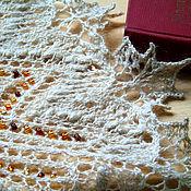"""Аксессуары ручной работы. Ярмарка Мастеров - ручная работа Шаль """"Янтарные капли"""". Handmade."""