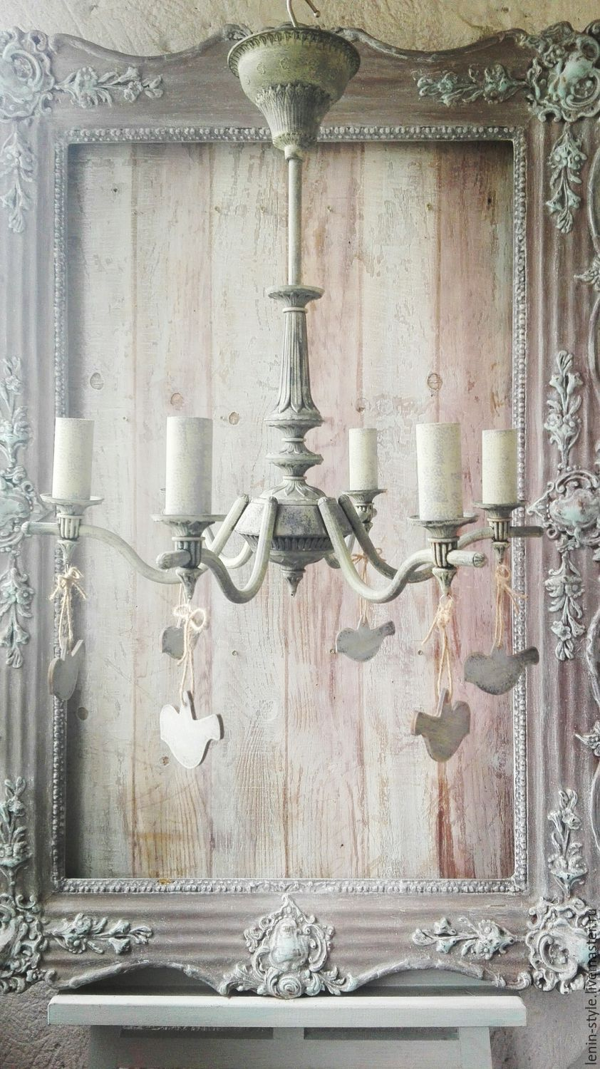 Chandelier provence birds shop online on livemaster with lamps handmade chandelier provence birds leninstyle lenin style mozeypictures Images