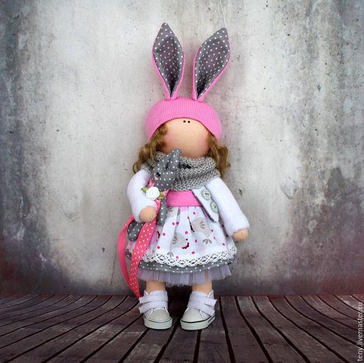 Коллекционные куклы ручной работы. Ярмарка Мастеров - ручная работа. Купить Текстильная кукла. Handmade. Тильда кукла, подарок девушке