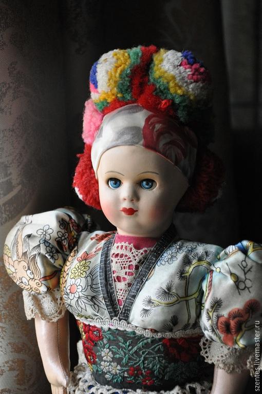 Винтажные куклы и игрушки. Ярмарка Мастеров - ручная работа. Купить Кукла. Handmade. Разноцветный, коллекционная кукла