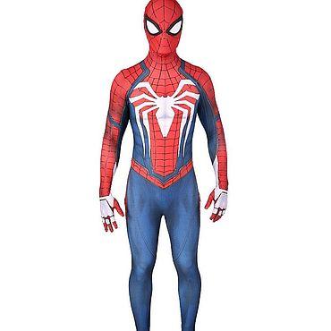 Дизайн и реклама ручной работы. Ярмарка Мастеров - ручная работа Человек паук костюм для аниматоров. Handmade.