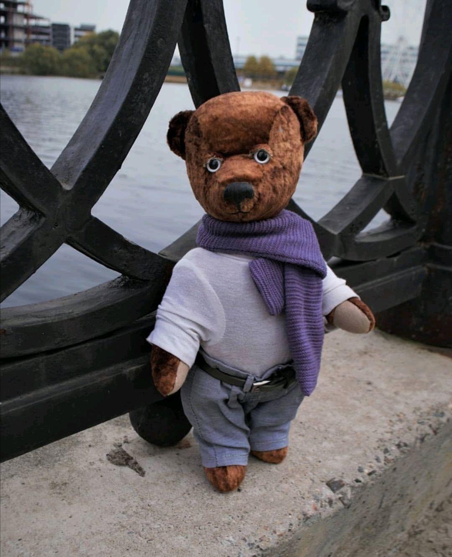 Мягкий мишка Шарфик, Мишки Тедди, Москва,  Фото №1