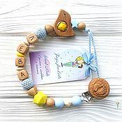 Работы для детей, handmade. Livemaster - original item Holders for nipples