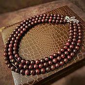 Украшения handmade. Livemaster - original item Beads of pomegranate