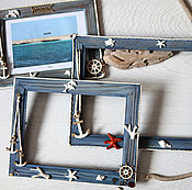 Сувениры и подарки handmade. Livemaster - original item Photo frame THE SEA - IS HAPPINESS. Handmade.