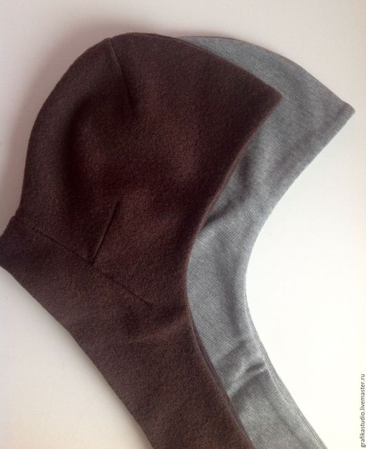 Капюшоны ручной работы. Ярмарка Мастеров - ручная работа. Купить Капор-капюшон с шарфом коричневый. Handmade. Коричневый, головной убор