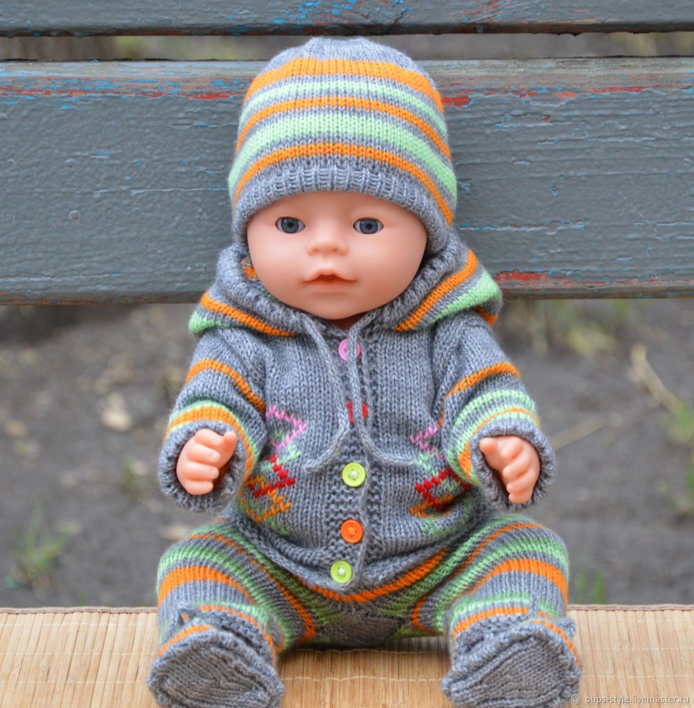 одежда для беби бон, комплект для baby born, костюмчик для беби бон, Одежда для кукол, Москва, Фото №1