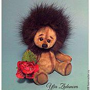 Куклы и игрушки ручной работы. Ярмарка Мастеров - ручная работа Ежик тедди Филли. Handmade.
