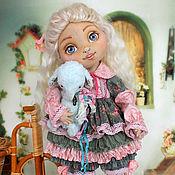 Куклы и игрушки ручной работы. Ярмарка Мастеров - ручная работа Ариша. Коллекционная текстильная кукла.. Handmade.