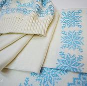 """Одежда ручной работы. Ярмарка Мастеров - ручная работа Комплект """"Снежинка"""". Handmade."""