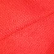 Материалы для творчества ручной работы. Ярмарка Мастеров - ручная работа Ткань материал драп в рубчик коралловый 87% шерсть на пальто 3 м. Handmade.