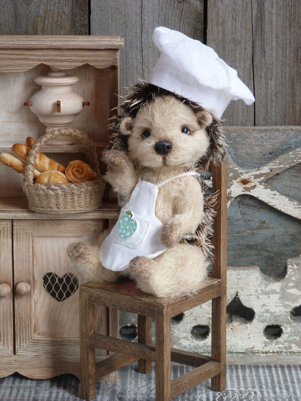 Ёжик пекарь, Мягкие игрушки, Москва,  Фото №1